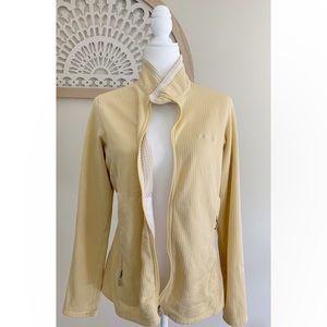 Patagonia Vintage Full Zip Polartec size XL Yellow